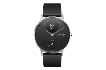 Withings Steel HR 36mm (Black, Black Band)