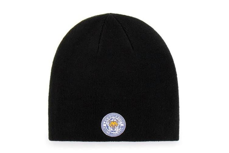 Crystal Palace Beanie Knitted Hat (Navy) (One Size)