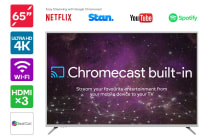 "65"" Smart Cast™ 4K LED TV with Google Chromecast (Smart TV)"