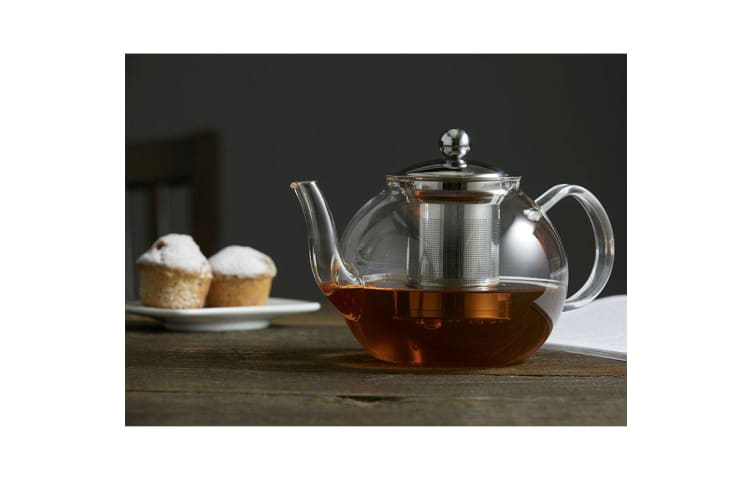 Leaf & Bean Camellia Teapot with Filter 1L