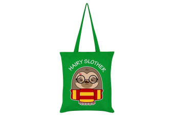 Grindstore Hairy Slother Tote Bag (Green)