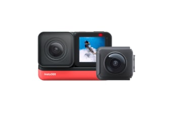 Insta360 One R Sport 4K Action Camera & Dual Lens 360 Camera System - Twin Edition