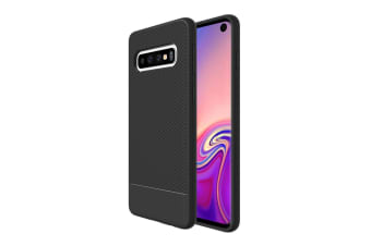 For Samsung Galaxy S10 Armour Case  Snap Black Armor Shock Proof Slim Cover