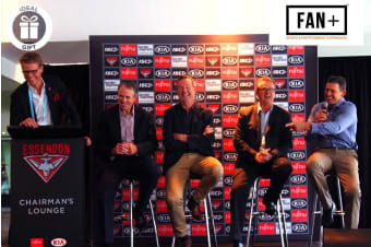 MELBOURNE: AFL Essendon President's Experience for Two
