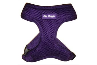 Hip Doggie Ultra Comfort Harness Vest (Purple)