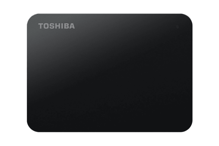 Toshiba Canvio Basics A3 USB 3.0 Portable External Hard Drive 1TB - Black (HDTB410AK3AA)