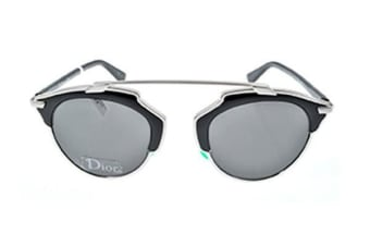 Christian Dior So Real - Palladium Black (Smoke lens) Womens Sunglasses