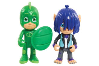 PJ Masks Hero vs Villains - Gekko and Wolfie Kevin