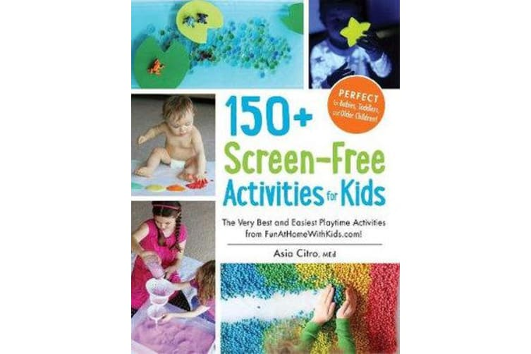 150+ Screen-Free Activities for Kids - The Very Best and Easiest Playtime Activities from FunAtHomeWithKids.com!