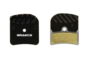 Brakco Organic Disc Pads With Heat-dissipation Fin For Hope V4
