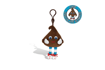 Whiffer Sniffers - 'Chip' Chocolate Chip Backpack Clip