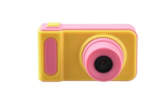 Select Mall Rechargeable Mini Kids Children Camera with 2 Inch Screen - Pink