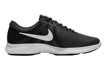 Nike Men's Revolution 4 Running Shoe (Black/White, Size 12 US)