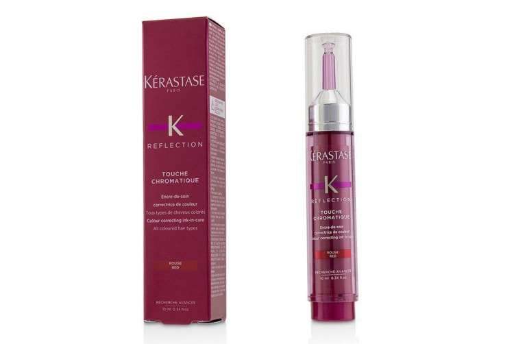 Kerastase Reflection Touche Chromatique Colour Correcting Ink-In-Care - # Red (All Coloured Hair Types) 10ml/0.34oz