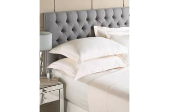 Riva Home Egyptian 400 Thread Count Flat Sheet (Cream) (Single)