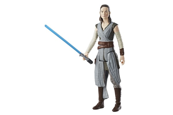 Star Wars Episode 8 Jedi Training Rey Figure