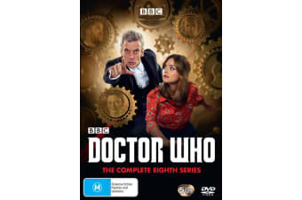 Doctor Who The Complete Eighth Series 8 Box Set DVD Region 4
