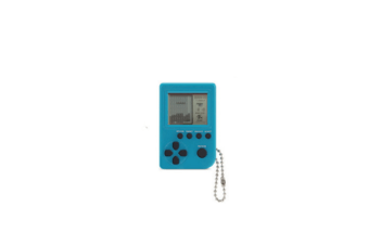 Super Mini Retro Tetris Game Console Keychain Decoration Pendant  4