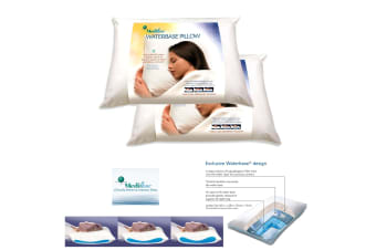 Twin Pack Adjustable Mediflow Waterbase Pillows