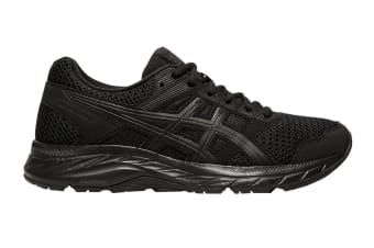 ASICS Women's Gel-Contend 5 Running Shoe (Black/Graphite Grey, Size 11 US)