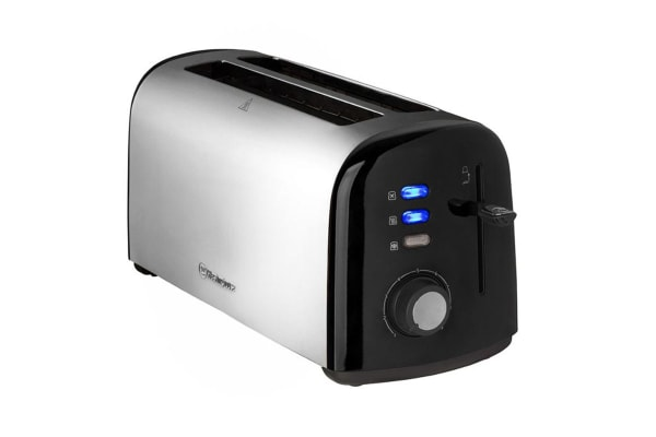 Westinghouse 4 Slice Long Slot Toaster - Pearl Black