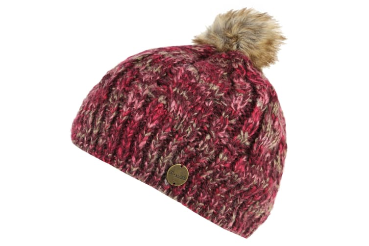 Regatta Womens/Ladies Frosty Beanie II Hat (Burgundy) (One Size)