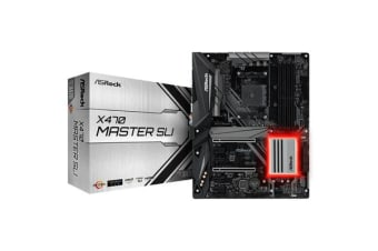 ASRock X470 Master SLI ATX Form Factor For AMD Socket AM4