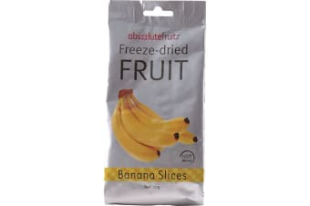 AbsoluteFruitz Freeze Dried Banana Slices 18g