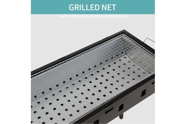 Foldable BBQ Charcoal Grill Protable Outdoor Camping Barbecue Picnic Hibachi