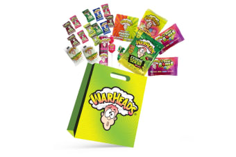 22pc Mega Warheads Kids Showbag Sour Spray/Jelly Beans/Lollipops Assorted Candy