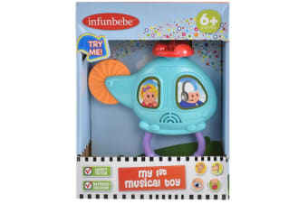 Infunbebe My 1st Musical Toy Helicopter