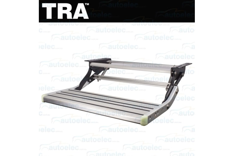 TRA STEEL & ALUMINIUM SINGLE PULL OUT STEP CARAVAN RV OFF ROAD CAMPER TRAILER