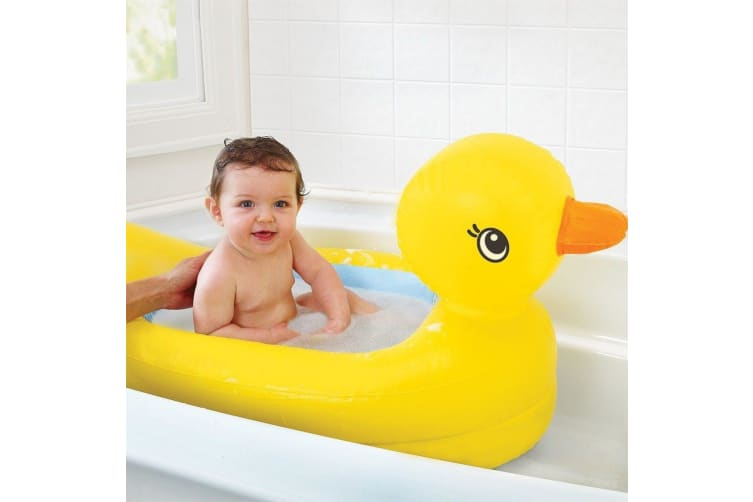 Munchkin Inflatable Safety Duck Baby Bath Tub