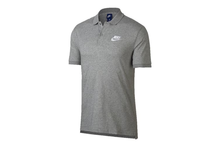 Nike Matchup Men's SS Polo (Grey, Size S)