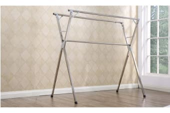 Stainless Foldable Clothes Airer Drying Rack