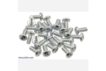 "Machine Screw: #4-40, 1/4"" Length, Phillips (25-pack)"