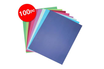 2x 50pc Colourful Days A4 Board 210 GSM Cool Craft School Paper Assorted Colour