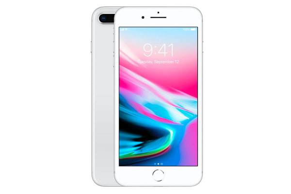 Apple iPhone 8 Plus (64GB, Silver)