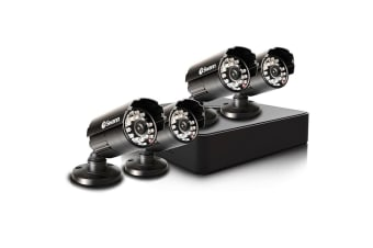 Swann 4 Channel 960H 500GB DVR with 4 x PRO-615 Cameras (SWDVK-415254)
