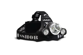 4 Mode LED Flash Torch Headlamp
