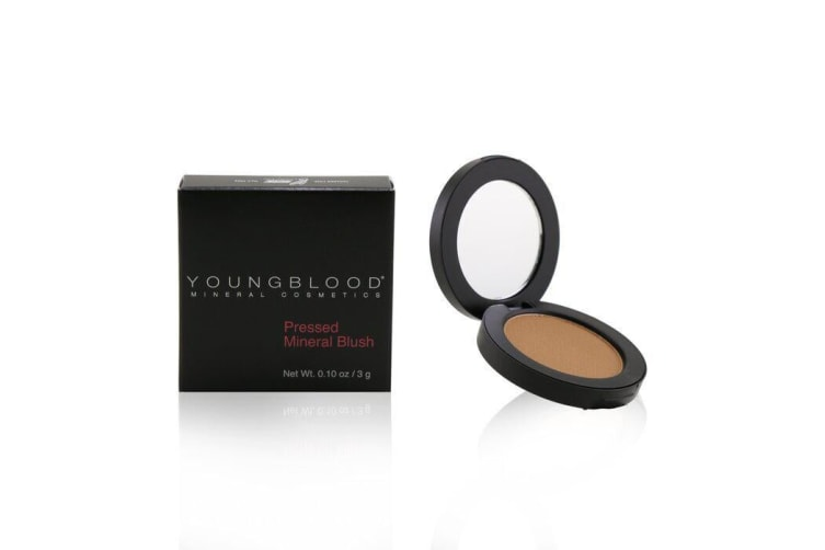 Youngblood Pressed Mineral Blush - Gilt 3g