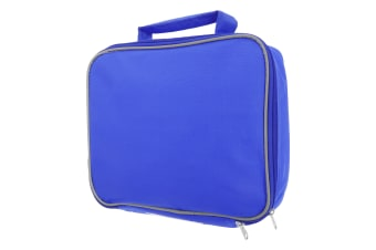 Mucky Fingers Kids Insulated School Lunch Bag (Blue)