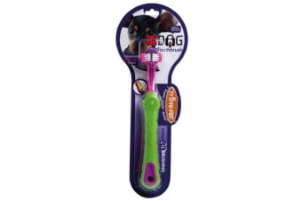 Pet Toothbrush for Small Breed Dogs (Triple Pet)