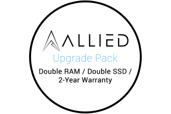 Allied Gaming PC Upgrade Package - Double RAM, Double SSD & 2 Year Warranty