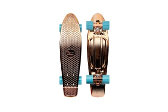Penny Complete Cruiser Skateboard - 22 Rose Mettallic Solid - Red