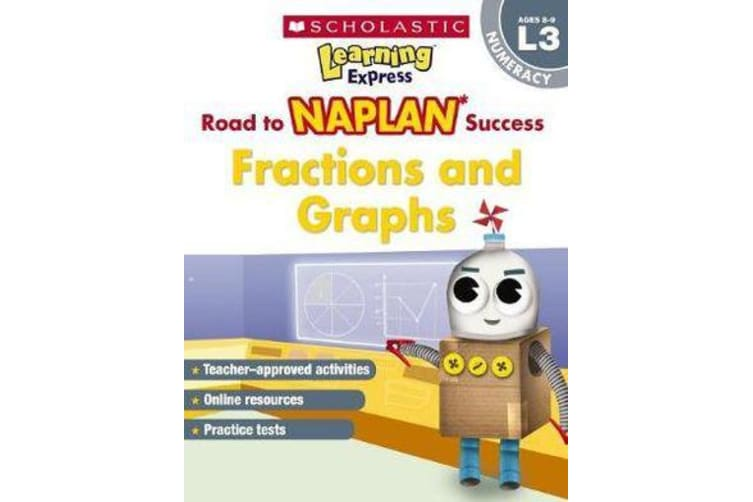 Learning Express NAPLAN - Fractions & Graphs NAPLAN L3