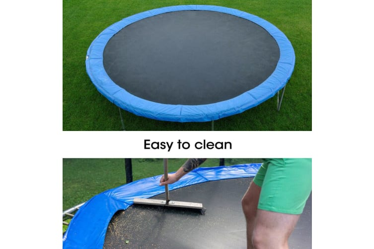 10 FT Kids Trampoline Pad Replacement Mat Reinforced Outdoor Round Spring Cover