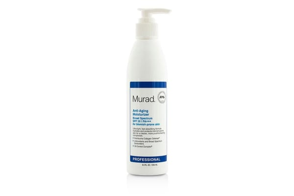 Murad Anti Aging Moisturizer SPF30 PA+++ - For Blemish-Prone Skin (Salon Size) (235ml/8oz)