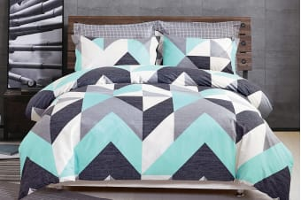 Gioia Casa Modern City Quilt Cover Set (King)