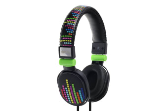 Moki Poppers Over Ear Headphones - Levels (ACCHPPOE)